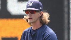 Brewers relief pitcher Josh Hader will be required