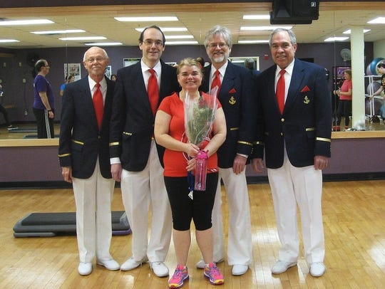 Quartet from the Red Bank Area Chapter of the Barbershop