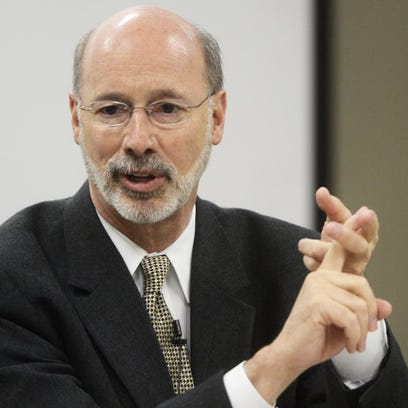Video: Grading Governor Wolf