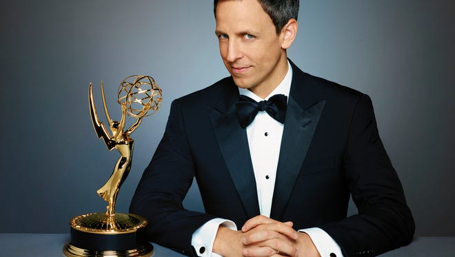 Seth Meyers takes his shot at hosting the Emmys this year.