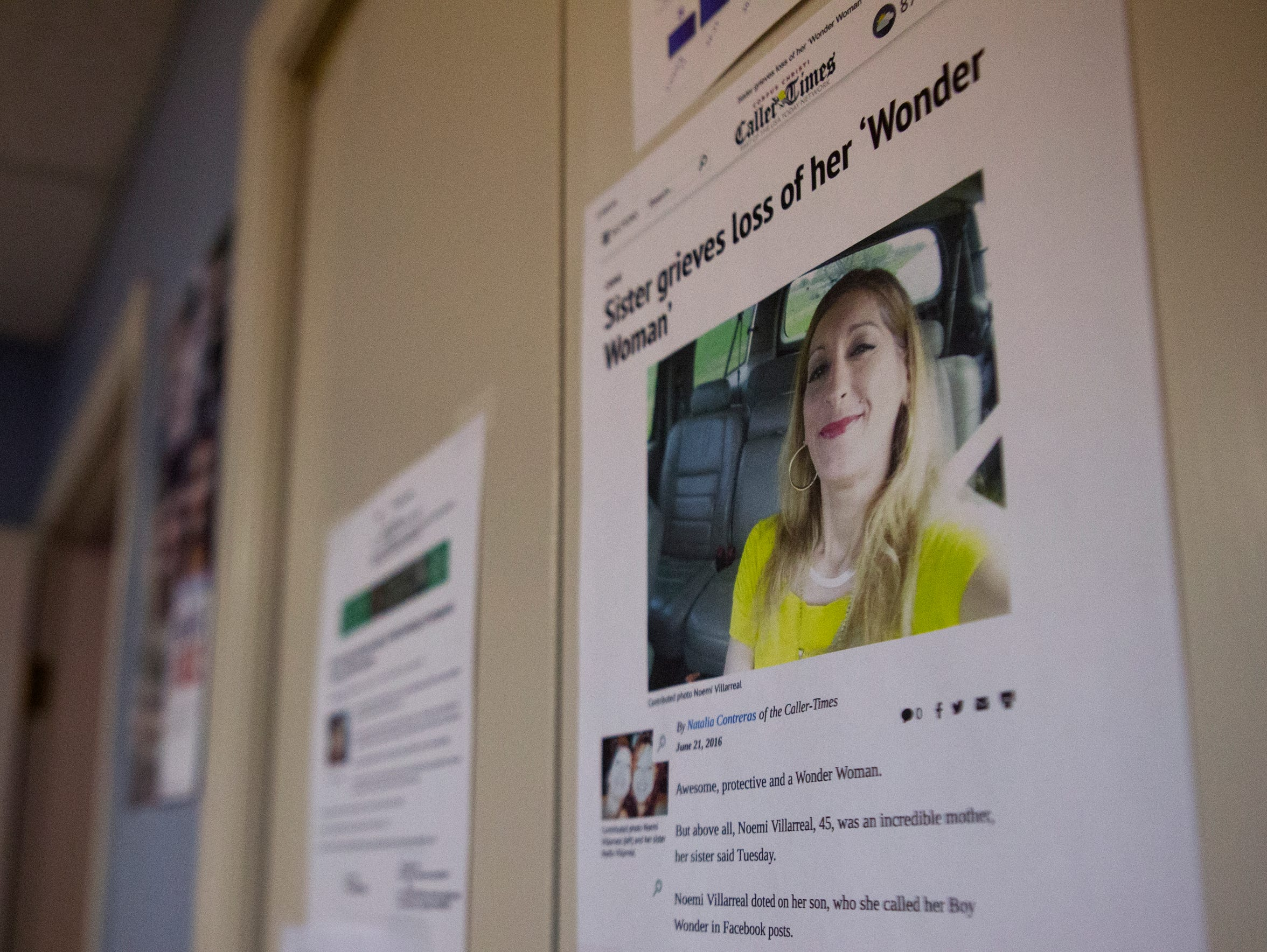 An article about the murder of Noemi Villarreal is