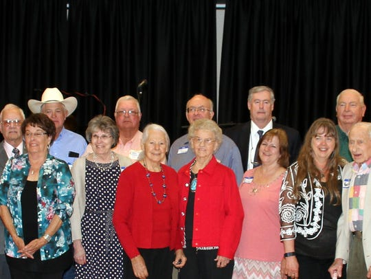 Past presidents of the Luna County Old-Timers Association