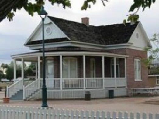 160 N. Center St. | First owned by Mesa pioneer Joel