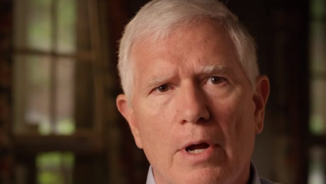 U.S. Rep. Mo Brooks, R-Huntsville, a candidate for U.S. Senate, speaks in an ad created by his campaign promising to shut down the U.S. Senate if a border wall is not erected.