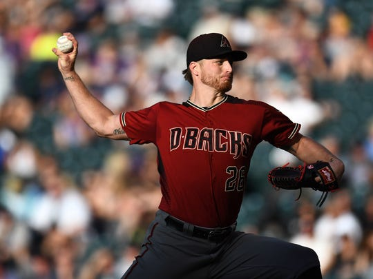 Jul 11, 2018: Arizona Diamondbacks starting pitcher