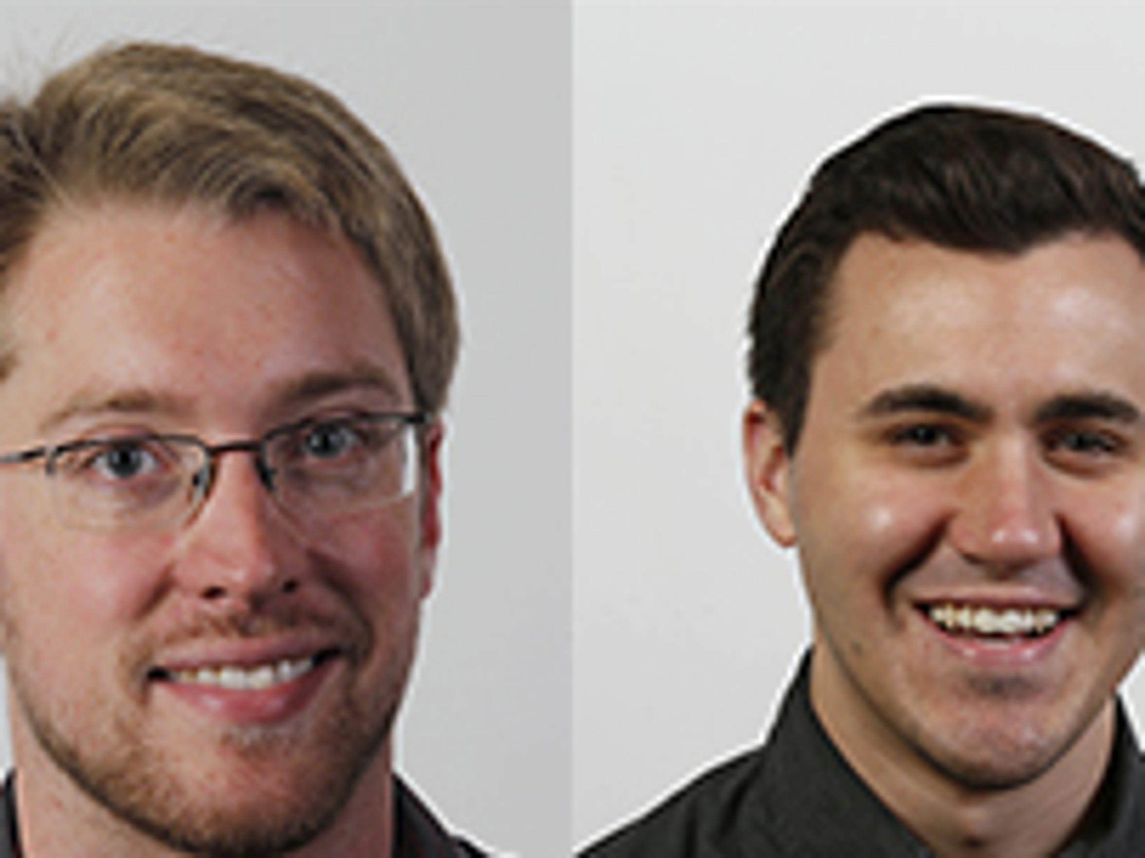 J&C Reporters Mikel Livingston and Steven Porter