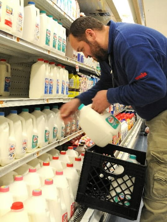 Too much milk could derail your diet. Moderation is key. DAILY EECORD/SUNDAY NEWS - FILE