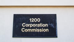 The Arizona Corporation Commission in Phoenix.