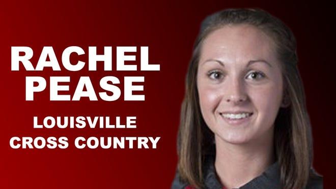 Louisville cross country runner Rachel Pease.