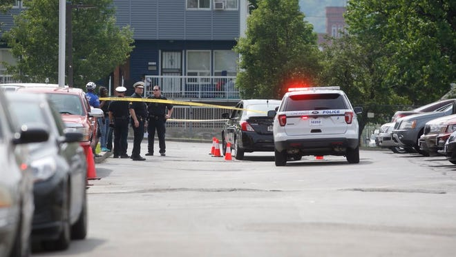 A police pursuit of stolen car in May through West End came to an end near the Carl H. Lindner YMCA. Four juveniles were arrested.