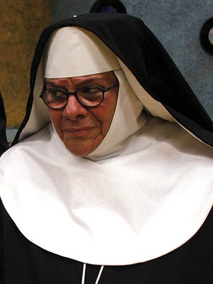 Phyllis Contestable starred in Nunsense at Blackfriars Theatre.