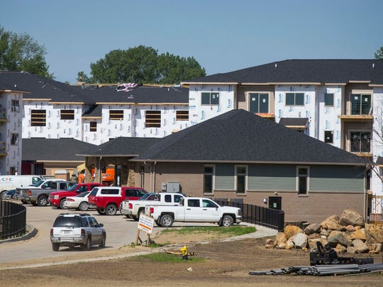 Apartments going up at 8350 Cascade in West Des Moines,