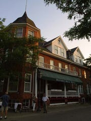 The Historic Holly Hotel in Holly, Mich. on Wednesday, July 17, 2002.(
