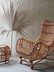 Susila Rattan Chair via Anthropologie.