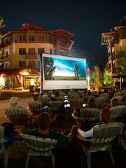 The Village at Squaw Valley is offering free family-friendly events like the Outdoor Summer Movie Series this summer.