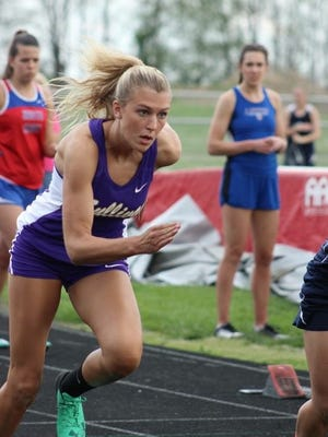 After overcoming six knee surgeries, Sullivan High School senior Nikki Hutchcraft set the school record in the 100-meter dash this season.