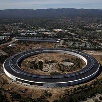 Apple, Amazon, Google build futuristic campuses as business booms