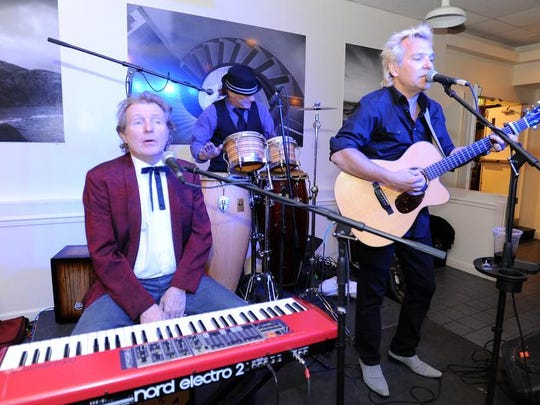 Keith Mack & Ed Shockley entertain as The Annual Dewey Beach Winter Gala was held at the Bay Center in Dewey Beach on Saturday Feb. 15th to raise money for the Lifeguards and Police.
