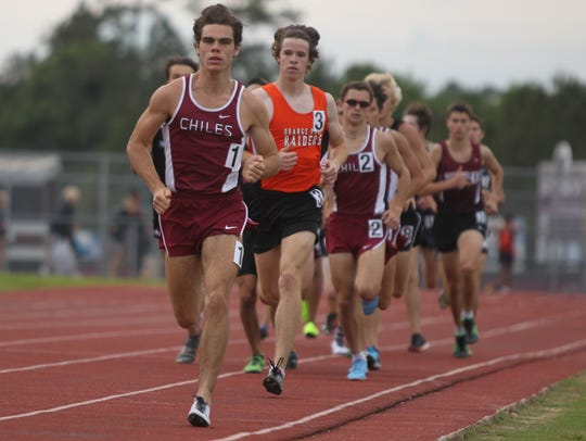 Chiles' Michael Phillips leads the 1600 at the Region