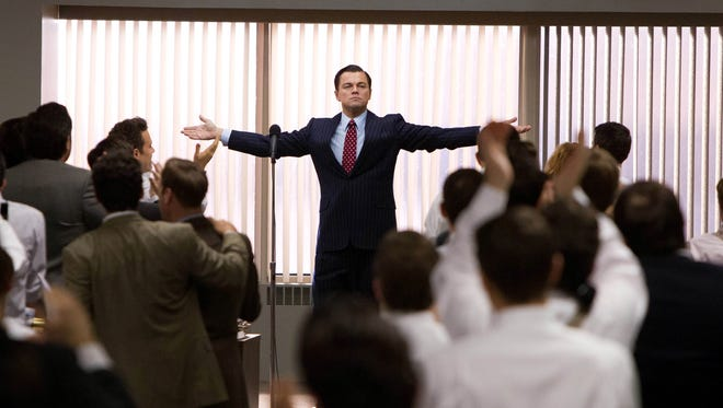 Leonardo DiCaprio stars as Jordan Belfort in 'The Wolf of Wall Street'