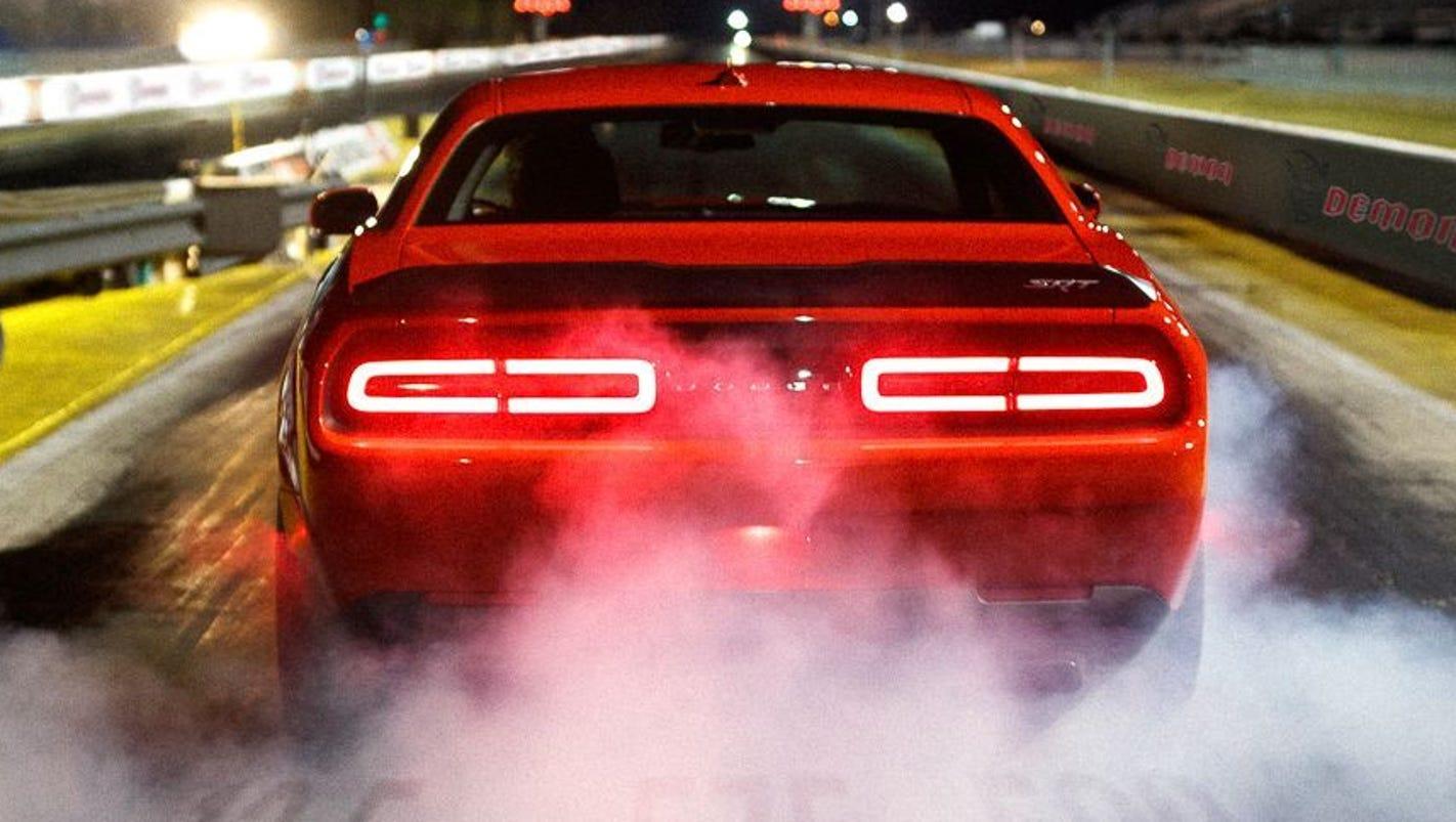 2018 Dodge Challenger SRT Demon is \'world\'s fastest\' car
