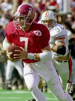 Jay Barker (7) 1992 Iron Bowl.