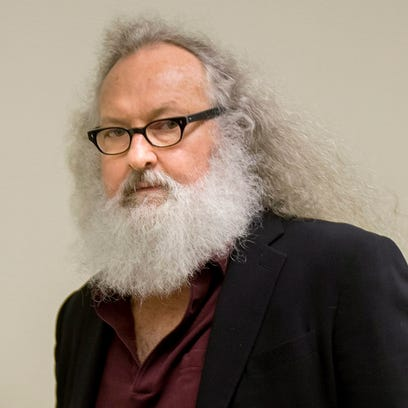 Randy Quaid arrives at his Immigration and Refugee