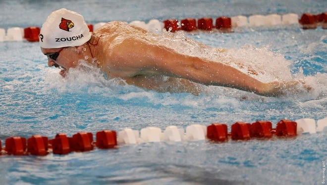 U of L's men's swimming and diving team finished second at the 2016 ACC championships.