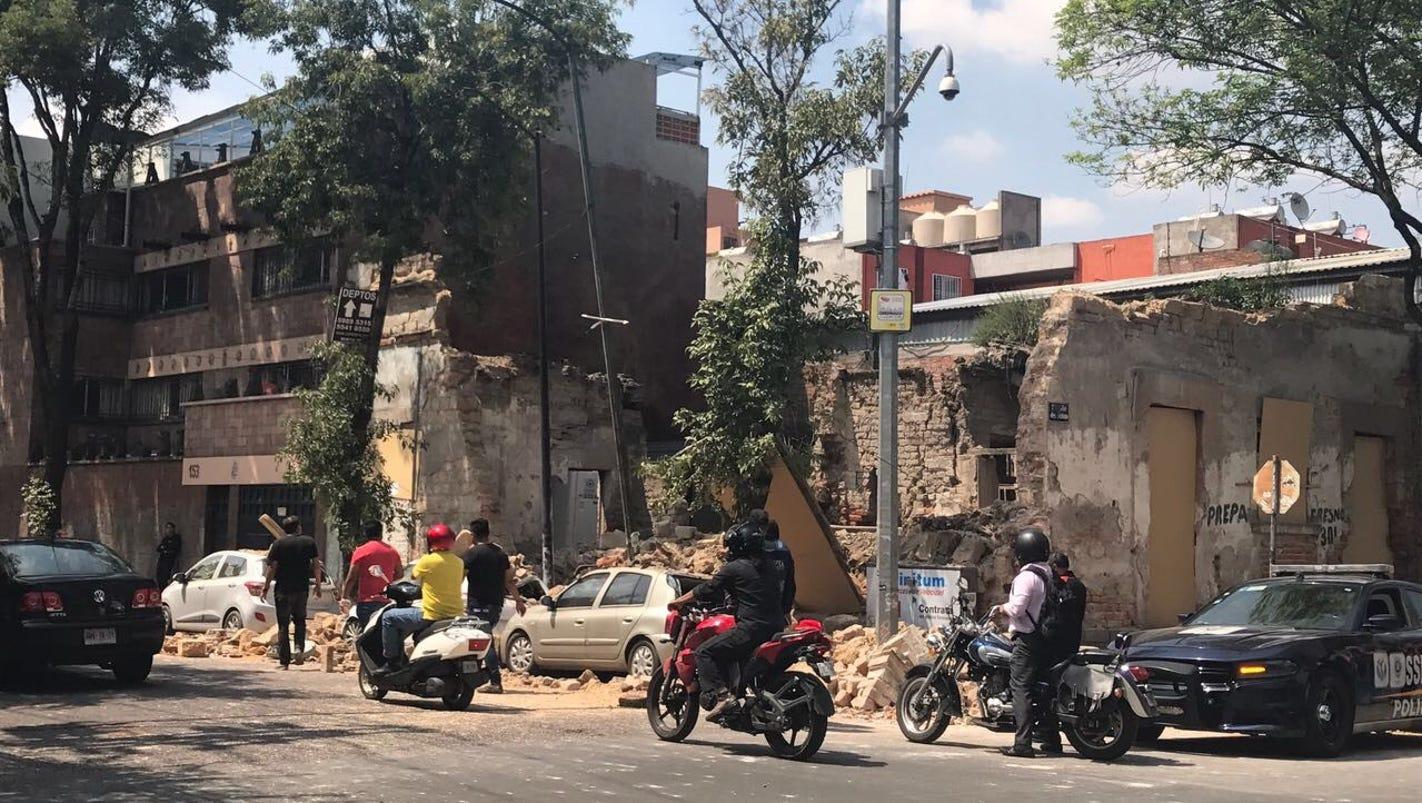'People were screaming': 'La Voz' reporter describes powerful Mexico City earthquake