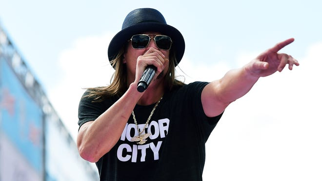 Kid Rock will perform on July 23 at Indianapolis Motor Speedway.