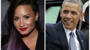 That time when Demi Lovato assured Obama he wasn't stupid
