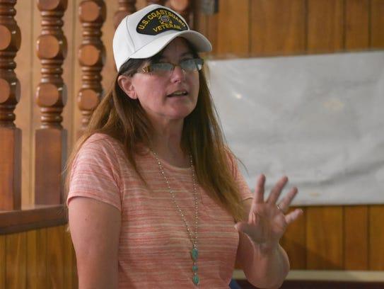 Hildebrant, a resident of Socorro, talked to Otero