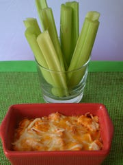 This Buffalo Turkey Dip is low carb and perfect to share with friends. It's a great way to use your leftover turkey.
