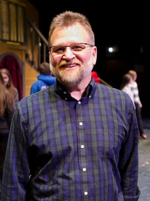 Mark Eberhard started the St. Clair High Theater Troupe 20 years ago.
