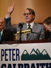 Peter Galbraith announces his run for governor.