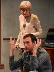 """Judy Rollins and Brad Bond in """"The Velocity of Autumn"""""""