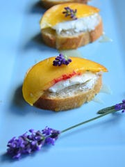 If you need a quick appetizer, try this Goat Cheese