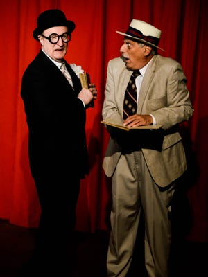 """Tim Gleason, left, and Nick DeLucia star in """"The Nance,"""" a co-production of KNOW Theatre and SRO Productions III. It opens Friday at KNOW in Binghamton."""