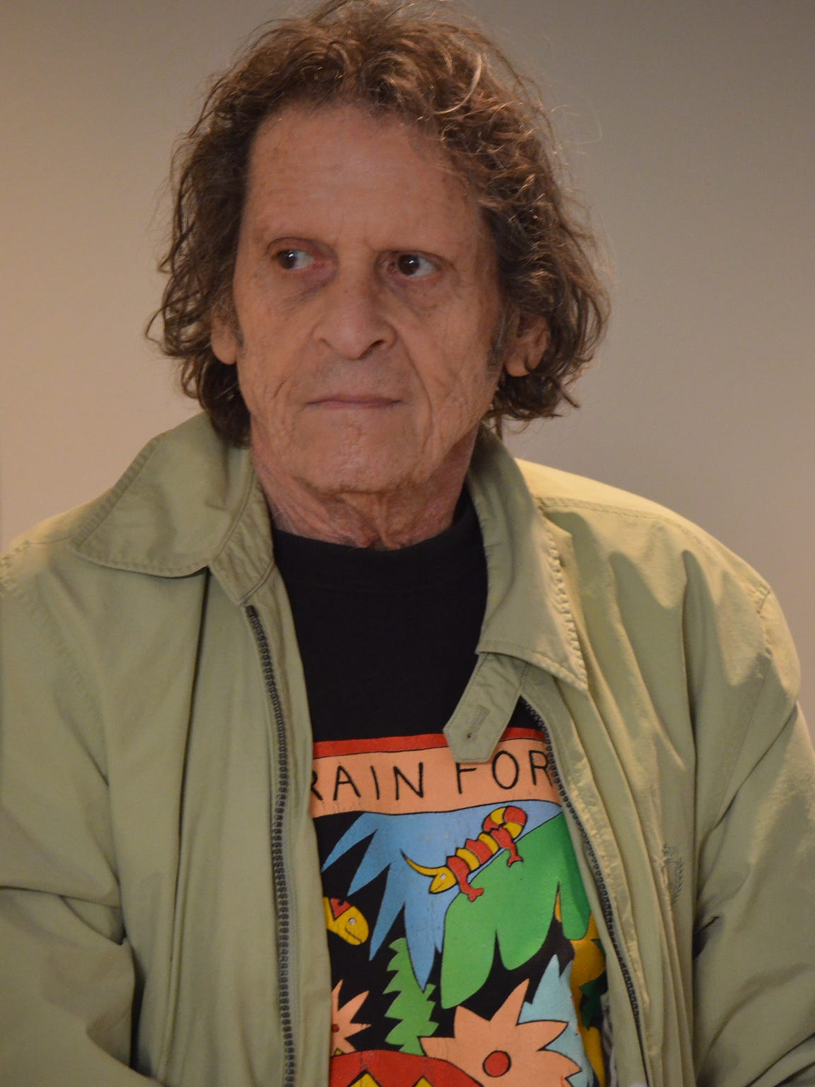 Paul Krassner, co-founder of the Yippies and publisher of The Realist magazine, was honored with a Lifetime Achievement Award by the Veterans for Peace Jon, Castro Chapter 19 in Cathedral City on Monday, Feb. 16, 2015.