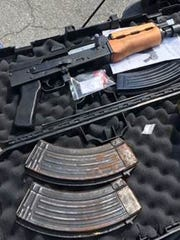 Drugs and guns were found at a Lehigh Acres home. One man was arrested.
