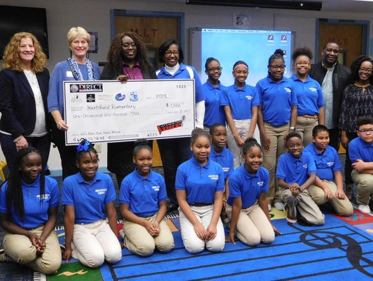 Hartsfield Elementary School wins the Let's Hear Your