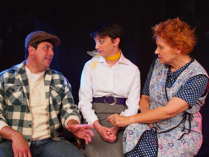 "The Grosse Pointe Players perform ""A View from the"