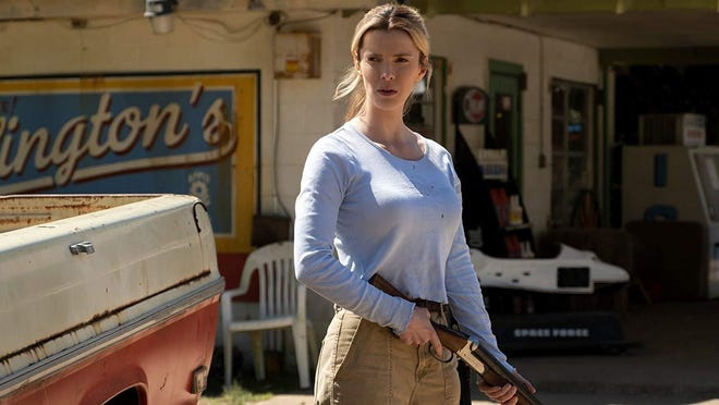 "Betty Gilpin in ""The Hunt.'"""