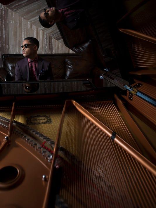 Matthew Whitaker, a teen-age piano prodigy