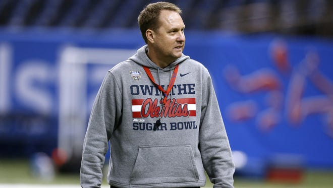 Ole Miss coach Hugh Freeze led the Rebels to wins in four of their last five games to get to the Sugar Bowl on Friday against Oklahoma State.