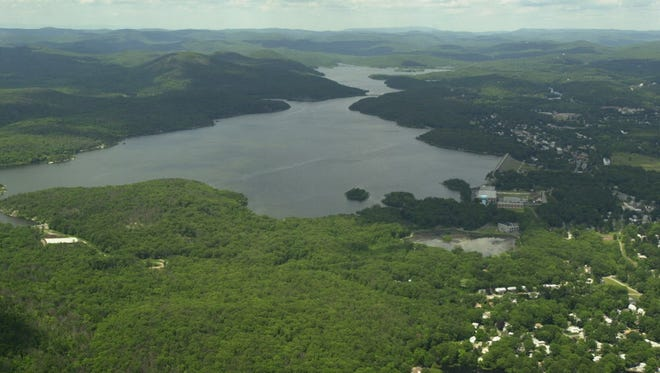The Wanaque Reservoir, in the New Jersey Highlands.