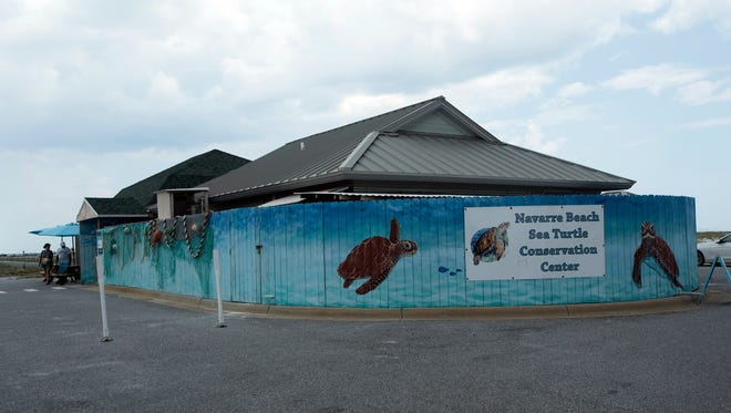 The Navarre Beach Sea Turtle Conservation Center re-opened on Thursday, July 20, 2017,  for the first time since the death of beloved sea turtle resident, Gigi, earlier in the week.