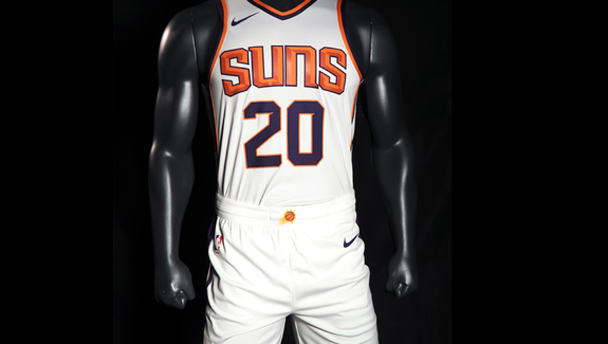 7331ed36f Photos  NBA teams unveiling new Nike uniforms for 2017-18 season