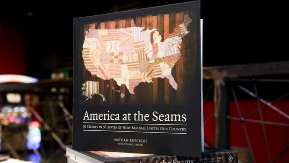 "Ethan Bryan, author of ""America at the Seams"" a book"