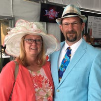 Fancy hats, fast hooves mark 46th Spiral Stakes